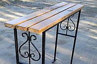 Деревянные скамейки и столы для дачи