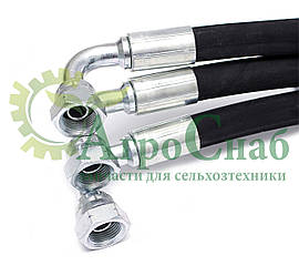 Рукава высокого давления S-22 (М18х1,5) длина 1,9 м. угол 90°
