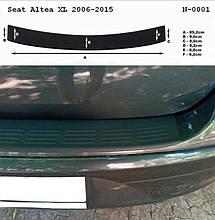 Накладка заднього бампера для Seat Altea XL 2006-2015