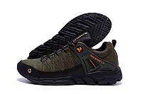 Мужские стильные кожаные кроссовки Merrell Tracking