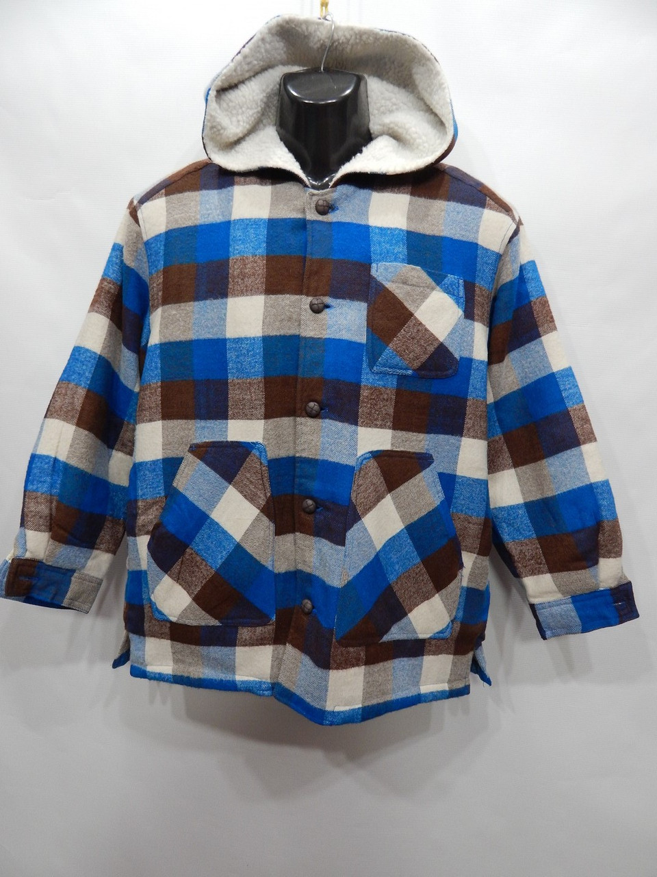 Куртка - рубашка мужская на меху Over Joyed р.48-50 018KRMD