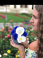 Букет з мильних троянд в коробці, фото 1
