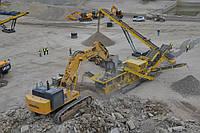 Роторная дробилка Кистрак (Keestrack B7E) дробление бетона, переработка строительных отходов, фото 1