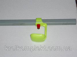 Поилка ниппельная  с каплеуловителем для кур , бройлеров ,перепелов