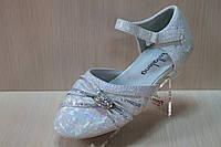 Праздничные, нарядные детские туфли для утренника для девочки р.24