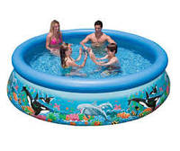 Надувной бассейн Intex  Easy Ocean Set Pool, 305х76 см (28124)