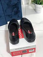 Туфлі жіночі чорні Doren 20135-000-siyah, фото 3