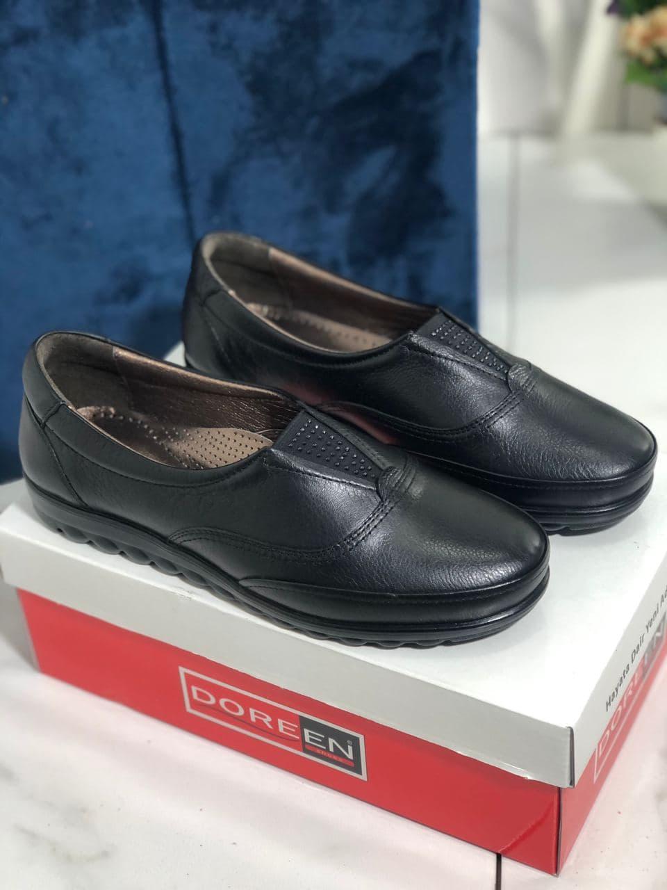 Туфлі жіночі чорні Doren 20206-000-siyah