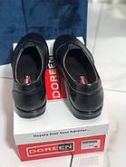 Туфли женские черные Doren 20206-000-siyah, фото 4