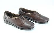 Туфлі жіночі шкіряні Doren 20206-005-kavhe, фото 5
