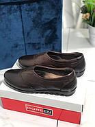 Туфлі жіночі шкіряні Doren 20206-005-kavhe, фото 2