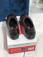 Туфлі жіночі шкіряні Doren 20206-005-kavhe, фото 4