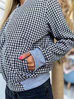 Куртка жіноча бомбер кашемір на підкладці 42-44 46-48