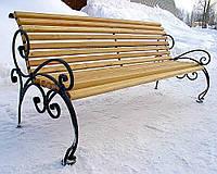 Каркас скамейки из металла