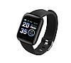 Смарт-годинник 116 PLUS для Android з пульсометром чорні