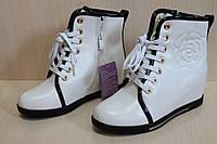 Демисезонные ботинки на девочку, стильные подростковые полусапожки тм Tom.m р.37,38