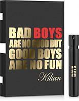 Пробник Kilian Bad Boys Are No Good But Good Boys Are No Fun 1,2 ml Оригінал