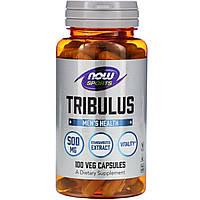 Трибулус, Now Food, 500 мг, 100 капсул