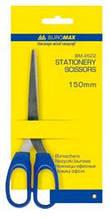 Ножиці BUROMAX офісні 15см блістер пласт. ручка 4522