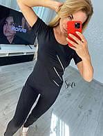 Фитнес костюм футболка и лосины, фото 1