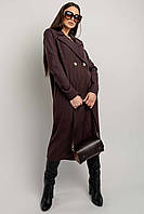Женское платье-пиджак Ирма длиной мини прямого свободного силуэта 42-52 размер разные цвета