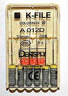 K-File 31мм, уп.6шт, №008, Dentsply Maillefer