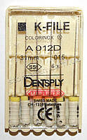 K-File 31мм, уп.6шт, №015, Dentsply Maillefer