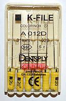 K-File 31мм, уп.6шт, №020, Dentsply Maillefer