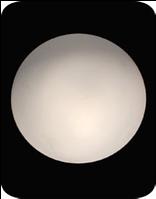 Светильник белый матовый - D190 мм