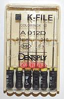 K-File 31мм, уп.6шт, №040, Dentsply Maillefer