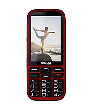 Телефон Sigma mobile Comfort 50 Optima red (2500mAh) (официальная гарантия)