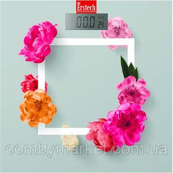 Весы напольные ERSTECH EFS-1802_FLOWERS