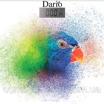 Весы напольные 180 кг; 30х30 (Parrot); термометр DARIO DFS-181_parrot