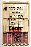 H-File 25мм, уп.6шт, №006, Dentsply Maillefer
