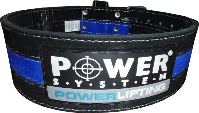 Пояс для пауэр-лифтинга POWER LIFTING PS-3800 черно-синий (Power system)