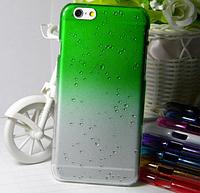 Зеленый чехол с эффектом росы для Iphone 6/6S, фото 1