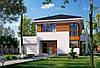 Проект просторного жилого дома с террасой МS202 .