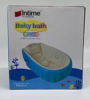 Детская ванна Intime Plastics Baby Bath (98x65x28cм) (Синий и розовый) YT-226A (20шт)