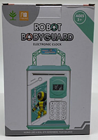 Робот Копилка PIGGY BANK Robot BodyGuard (Синий) / 906-B (36шт)