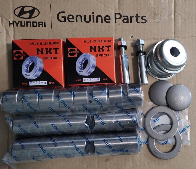 Шкворня комплект на вісь Hyundai HD120, HD210, Hyundai HD120 (K5677162001)