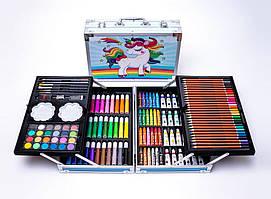 Набор для рисования -- 145 предметов (Синяя Пони) (6шт)