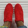 Кроссовки красные классика замшевые, фото 5
