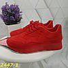 Кроссовки красные классика замшевые, фото 3