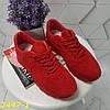Кроссовки красные классика замшевые, фото 2