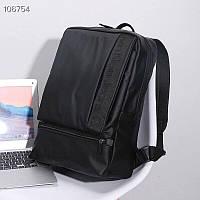 Рюкзак унісекс стильний чорного кольору. Рюкзак модний чорний.