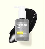 SOME BY MI Маска-пенка от чёрных точек Charcoal BHA Pore Clay Bubble Mask 120мл
