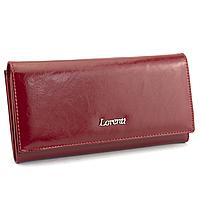 Кошелек женский кожаный классический красный LORENTI 72031-BPR red