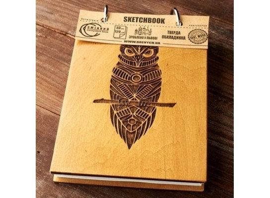Скетчбук Drevych Owl A6 80 листов (0166152)