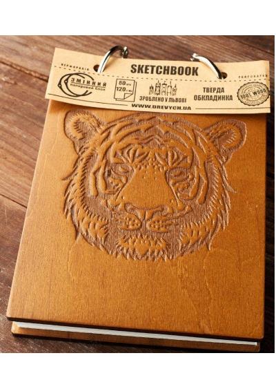 Скетчбук Drevych Tiger A6 80 листов (0166157)