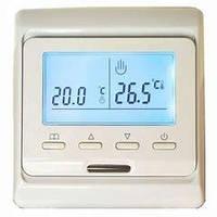 Програмований Терморегулятор з датчиком температури підлоги M6 (E51)